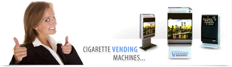 Cigarette Vending Machines banner