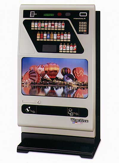 Wurlitzer cigarette vending machine